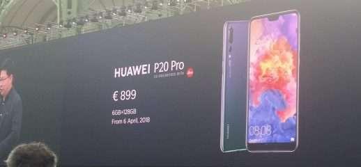 Huawei P20 e P20 Pro: caratteristiche e prezzi