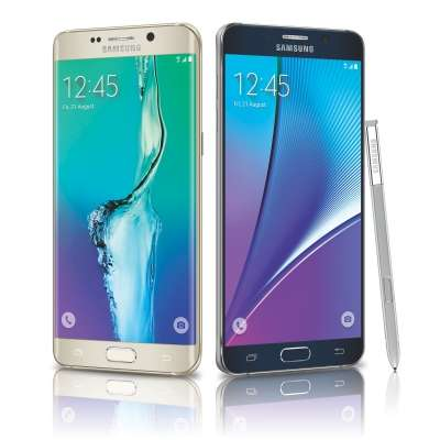 Galaxy S6 Edge Plus e Galaxy Note 5