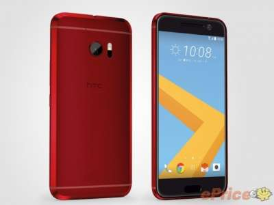 HTC 10 in rosso