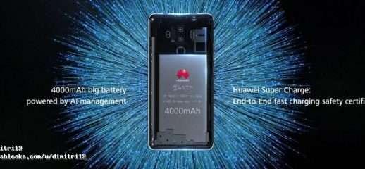 Online presunti render ufficiali del Huawei Mate 10