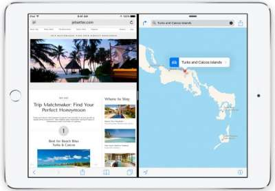 iOS 9: multitasking Split View per iPad