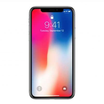 iPhone X quadrata