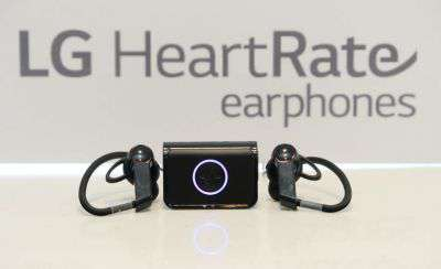LG Heart Rate e Lifeband Touch