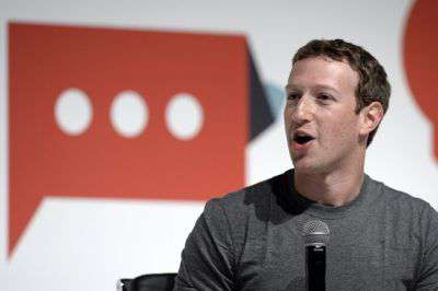 Mark Zuckerberg interviene al MWC 2015 di Barcellona