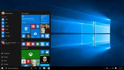 Il menu Start di Windows 10