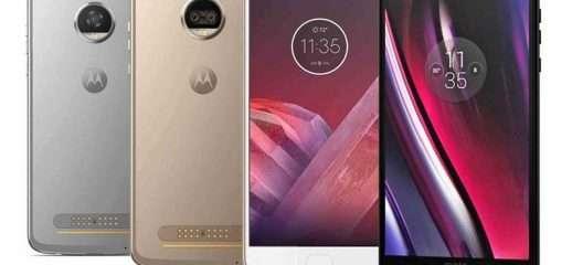 Motorola presenta ufficialmente il Moto Z2 Play