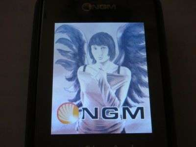 NGM Black Angel Dual Sim