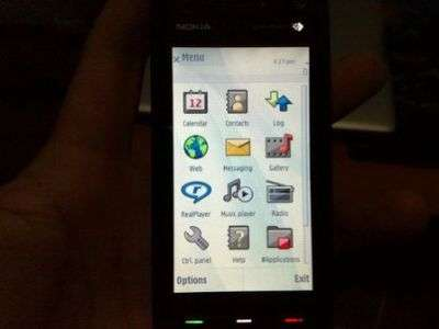Nokia 5800 Touchscreen