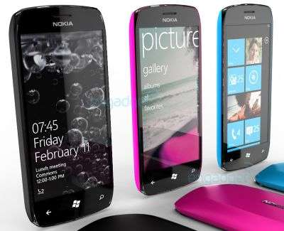 Nokia concept con Windows Phone 7