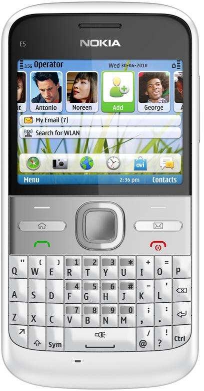 Nokia E5: recensione, caratteristiche e prezzi