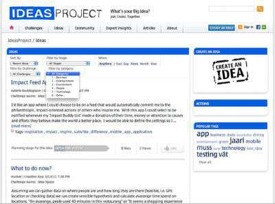 Nokia IdeasProject