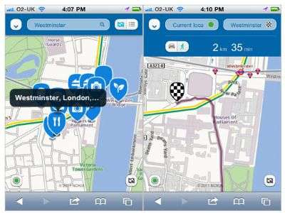 Nokia Maps su iPhone