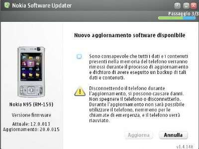 Nokia Software Update