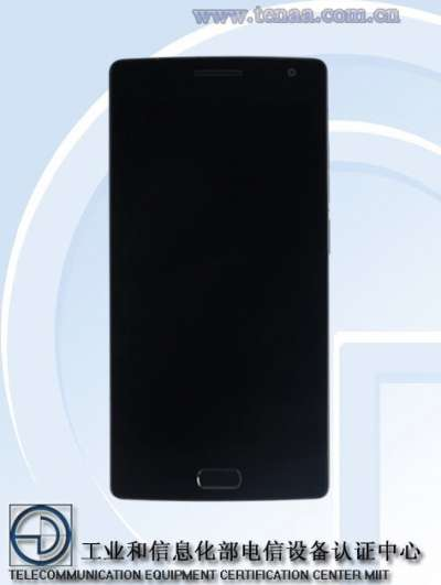 OnePlus 2 front (fonte TENAA)