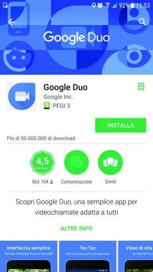 google duo é gratuito