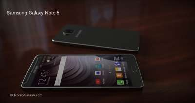 Samsung Galaxy Note 5, un rendering amatoriale