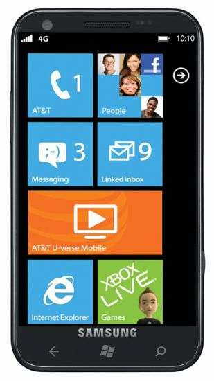Samsung Windows Phone LTE