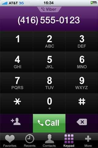 Viber per iPhone