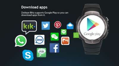 Zeblaze Blitz - supporto app Android