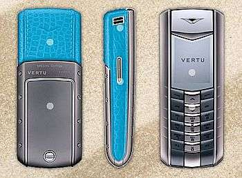 Vertu Ascent Azure